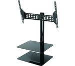 AVF ESL822B TV Bracket with AV Shelving - Black