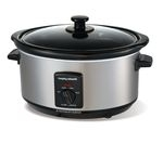MORPHY RICHARDS 48709 Slow Cooker - Stainless Steel