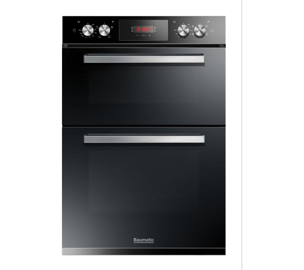 BAUMATIC BODM984B Electric Double Oven - Black, Black Review thumbnail