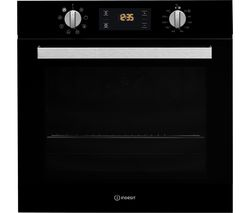 INDESIT Aria IFW 6340 BL Electric Oven - Black