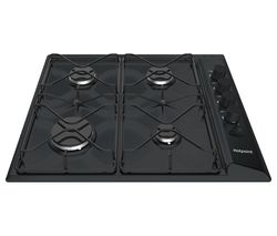 PAS 642/H Gas Hob - Black