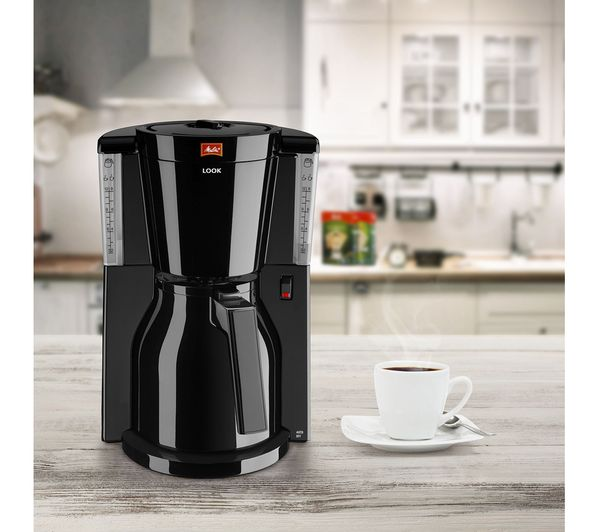 Look Iv Therm Filter Coffee Machine Black