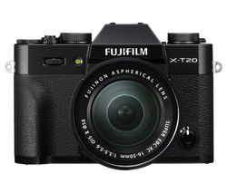 FUJIFILM X-T20 Mirrorless Camera with XC 16-50 mm f/3.5-5.6 OIS II Lens