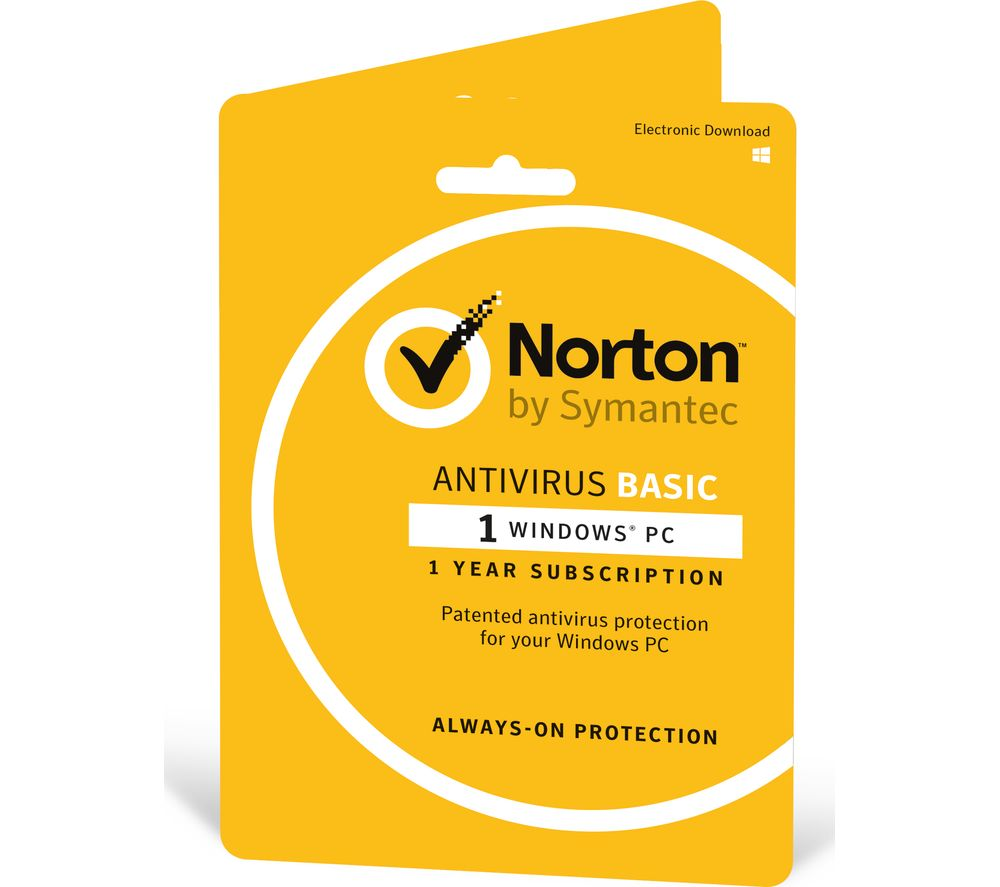 Buy Norton Antivirus Basic 2018 1 Year For 1 Device