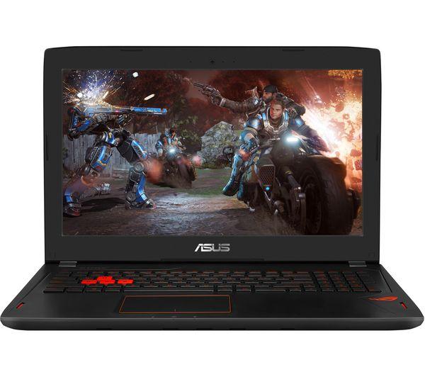 """Image of ASUS Republic of Gamers Strix GL502 15.6"""" Gaming Laptop - Black"""