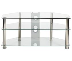 MMT Rome P5CCH1050 TV Stand - Glass