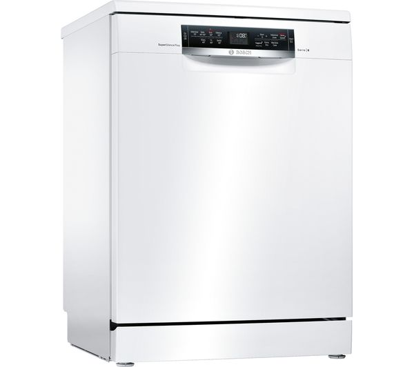 Compare retail prices of Bosch Serie 6 SMS67MW01G Full-size Dishwasher to get the best deal online