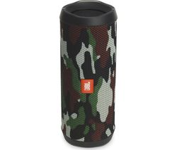 JBL Flip 4 Portable Bluetooth Wireless Speaker - Camouflage