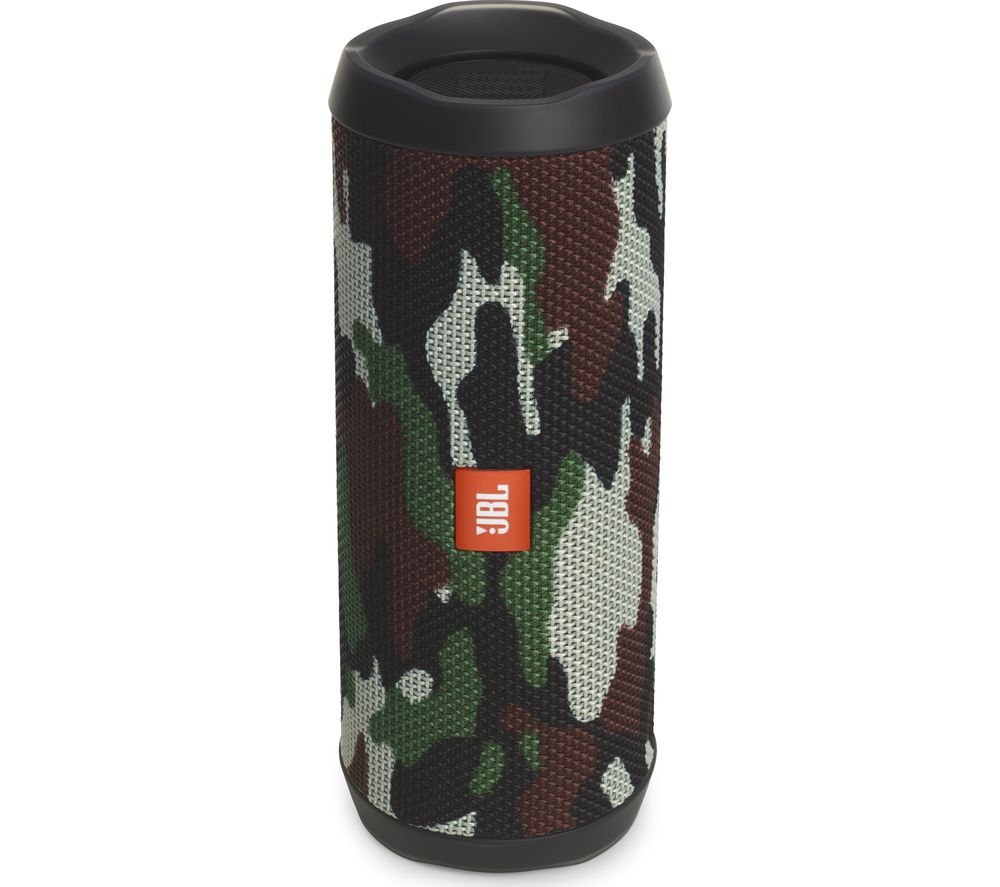 buy jbl flip 4 portable bluetooth wireless speaker camouflage free delivery currys. Black Bedroom Furniture Sets. Home Design Ideas