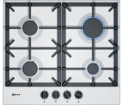 NEFF T26DS49W0 Gas Hob - White