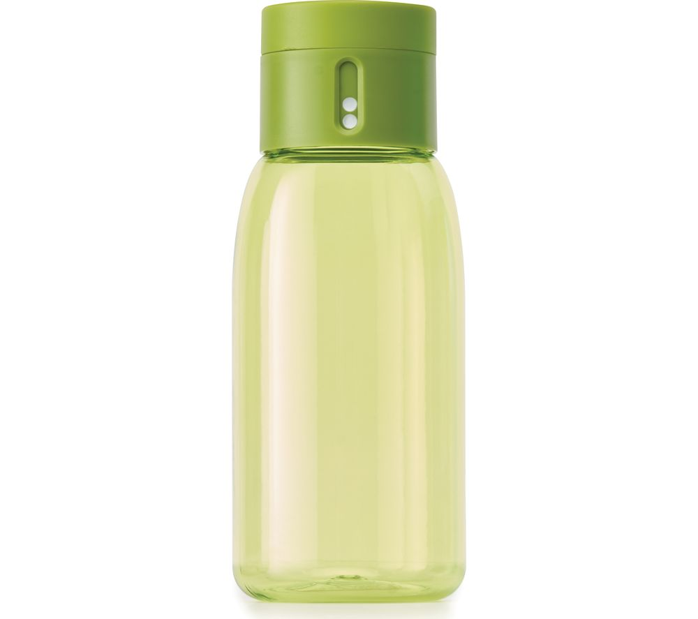 JOSEPH JOSEPH Dot Hydration Tracking 400 ml Water Bottle - Green