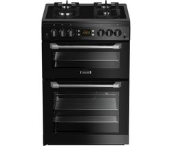 LEISURE Cuisinemaster CS60GVK 60 cm Gas Cooker - Black Best Price, Cheapest Prices