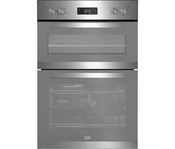 BEKO BXDF22300M Electric Double Oven - Stainless Steel