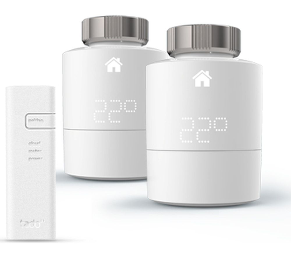 TADO Smart Radiator Thermostat Starter Kit - Horizontal