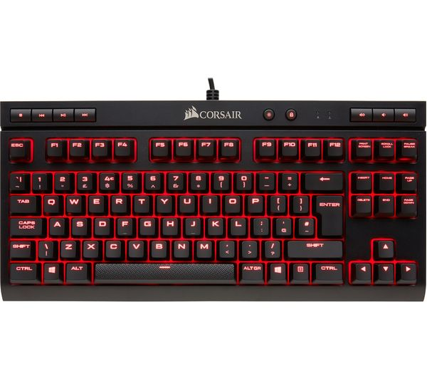 Image of CORSAIR K63 Compact Mechanical Gaming Keyboard