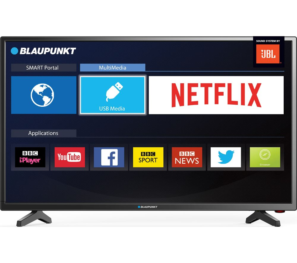 buy blaupunkt 40 138mxn 40 smart led tv l2hdint15 2 m hdmi cable free delivery currys. Black Bedroom Furniture Sets. Home Design Ideas