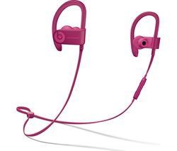 BEATS Powerbeats3 Neighbourhood Wireless Bluetooth Headphones - Brick Red