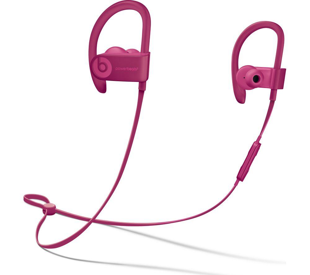 Powerbeats3 Neighbourhood Wireless Bluetooth Headphones - Brick Red