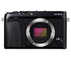 FUJIFILM X-E3 Mirrorless Camera - Black, Body Only