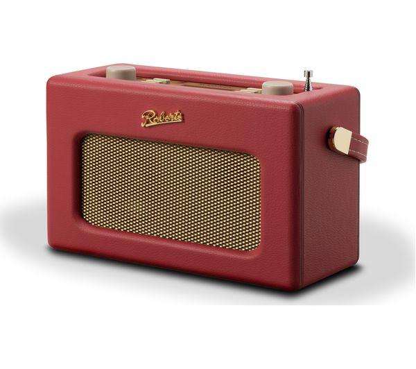 Image of ROBERTS Revival RD70 Portable DAB+/FM Retro Bluetooth Radio - Red