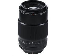 FUJINON XF 80 mm f/2.8 R LM OIS WR Macro Lens