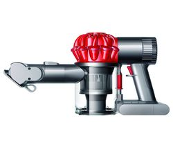DYSON V6 Car & Boat Extra Handheld Vacuum Cleaner - Red & Iron