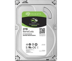"SEAGATE BarraCuda 3.5"" Internal Hard Drive - 3 TB"
