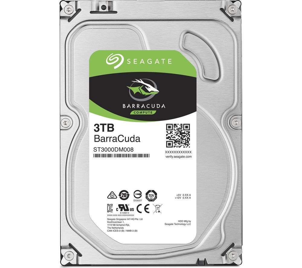 Compare prices for Seagate BarraCuda 3.5 Inch Internal Hard Drive - 3 TB