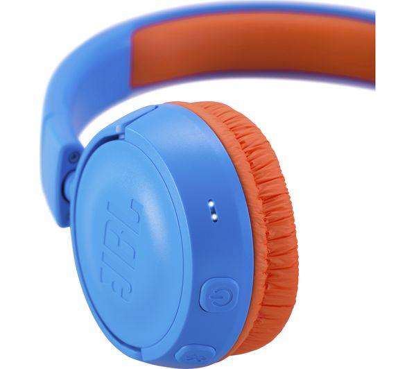 94c5fbdf5d6 Buy JBL JR300BT Wireless Bluetooth Kids Headphones - Rocker Blue ...