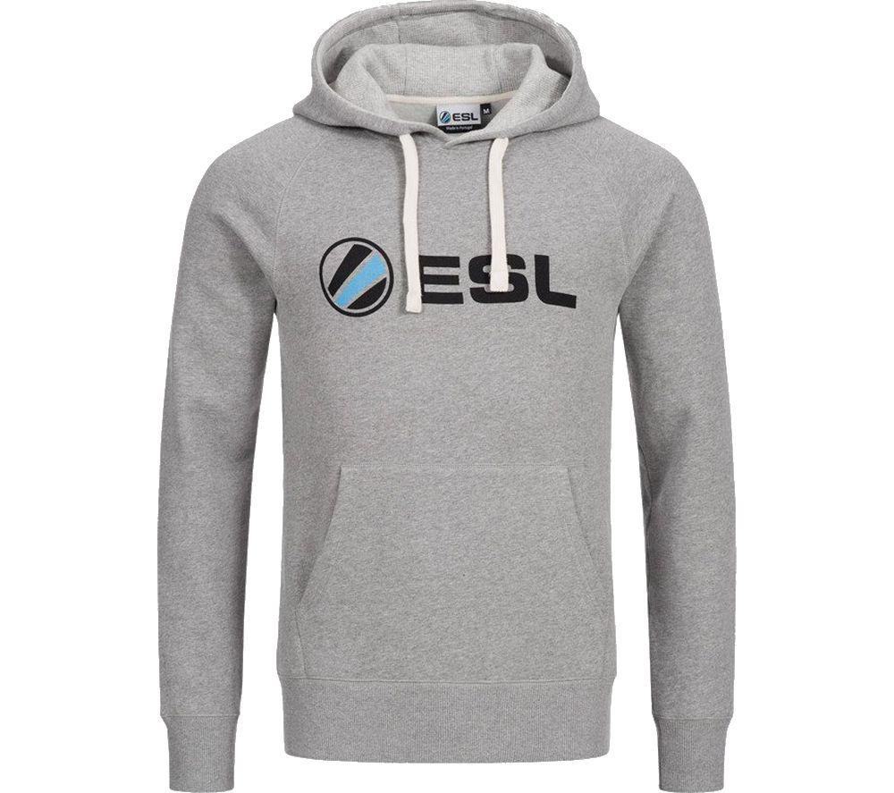ESL Basic Hoodie - Large, Grey