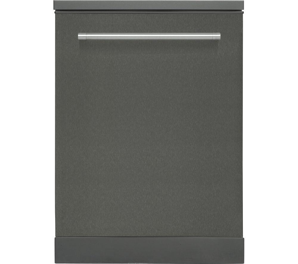 KENWOOD KDW60T18 Full-size Dishwasher - Black Steel