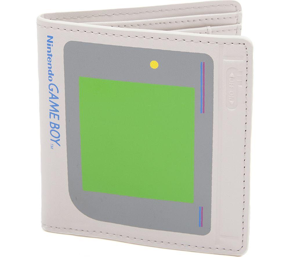 NINTENDO Game Boy Bifold Wallet - Grey & Green
