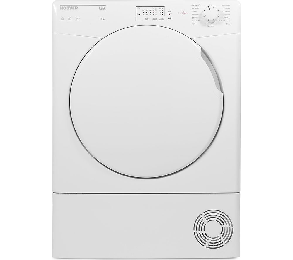 Hoover Tumble Dryer Link HLC10LF Smart NFC 10 kg Condenser - White, White