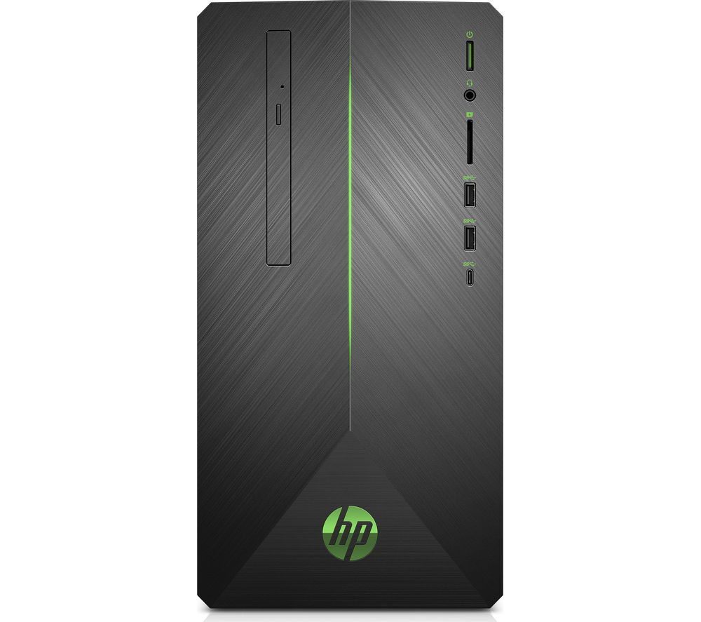 HP Pavilion 690-0012na Intel® Core™ i5+ Desktop PC - 2 TB HDD, Black
