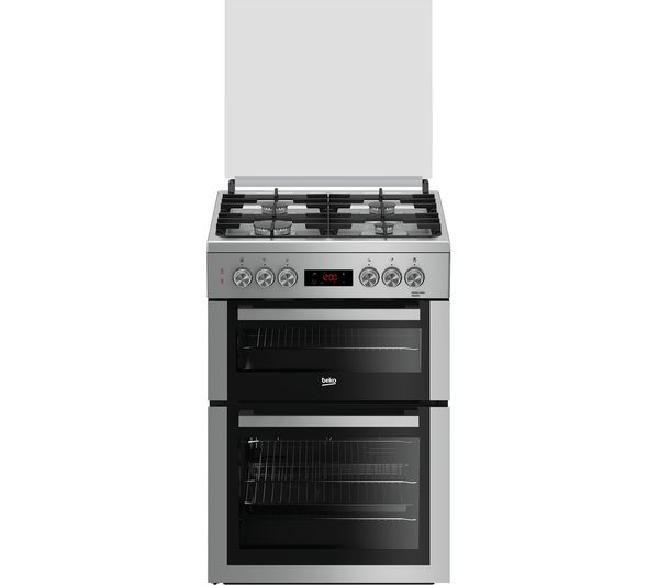 Buy Beko Pro Xddf655s 60 Cm Dual Fuel Cooker Silver
