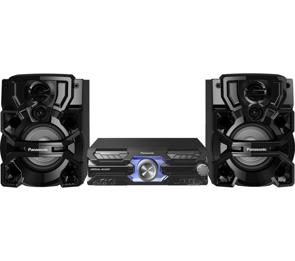 Image of PANASONIC SC-AKX710E-K Bluetooth Megasound Party Hi-Fi System - Black, Black