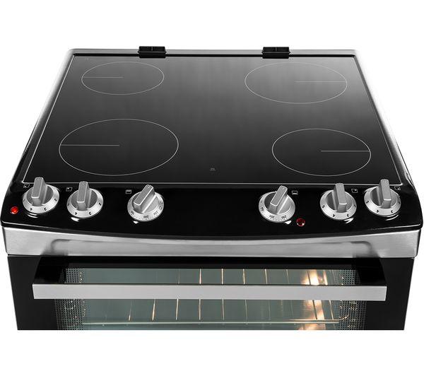 Astounding Buy Zanussi Zcv660Trxe 60 Cm Electric Ceramic Cooker Stainless Wiring Digital Resources Aeocykbiperorg