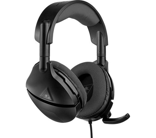 Image of TURTLE BEACH Atlas Three Amplified Gaming Headset - Black