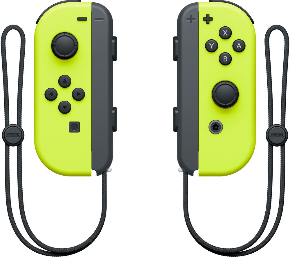 NINTENDO Switch Joy-Con Wireless Controllers - Yellow, Yellow