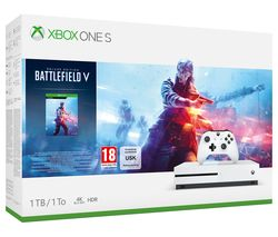MICROSOFT Xbox One S with Battlefield V