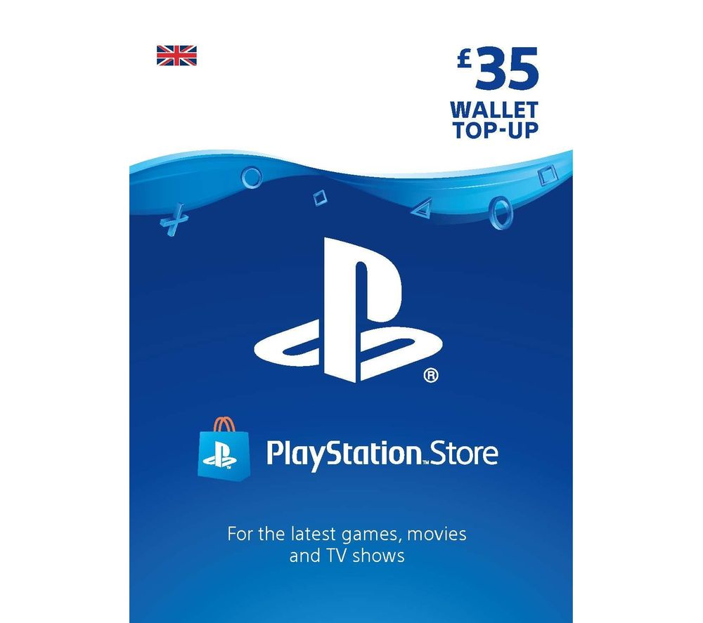 PLAYSTATION Network Wallet Top Up - £35