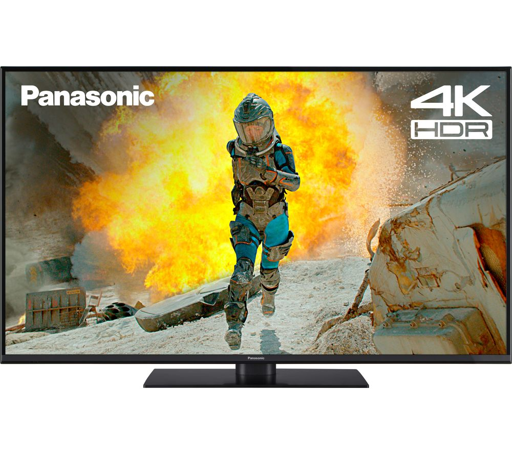 "49""  PANASONIC TX-49FX555B  Smart 4K Ultra HD HDR LED TV, Gold"