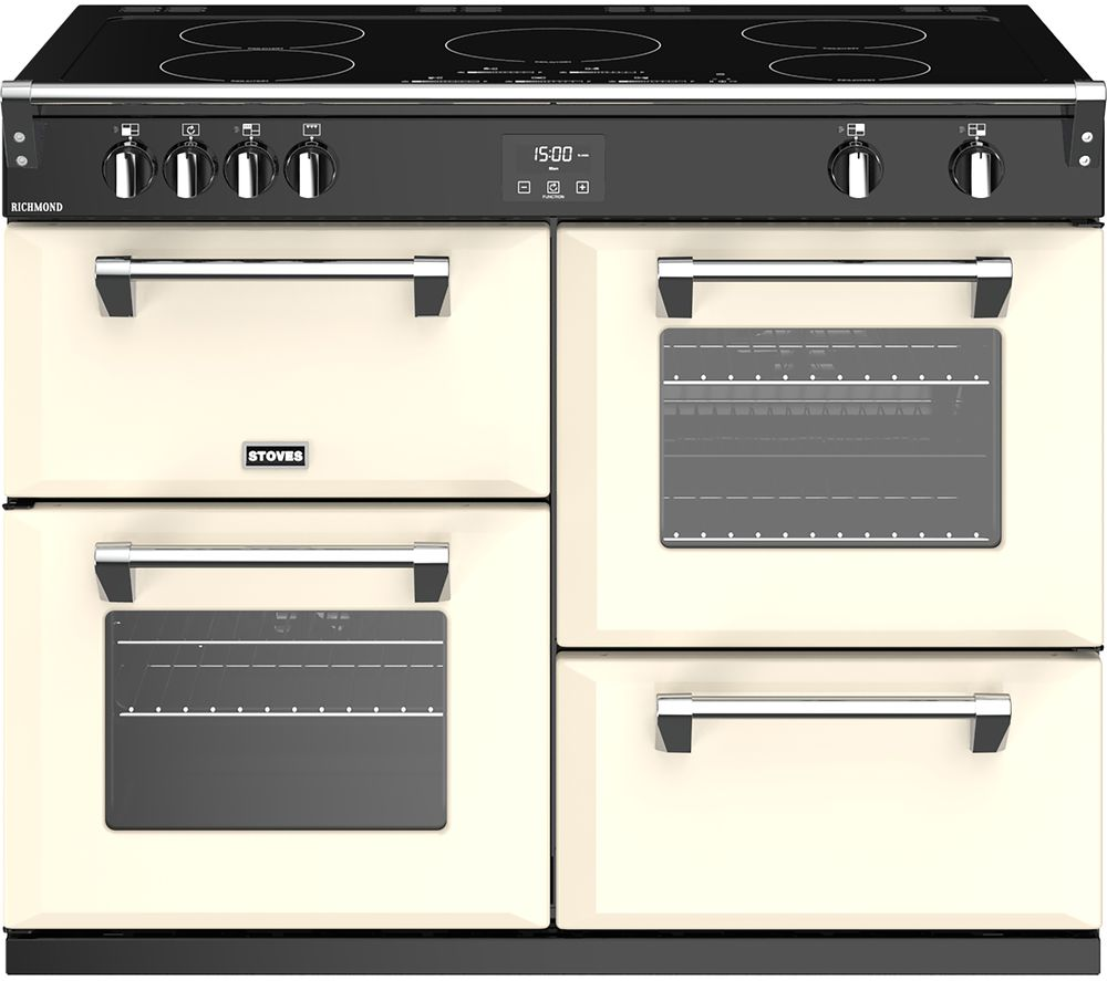 STOVES Richmond S1100Ei 110 cm Electric Induction Range Cooker - Cream