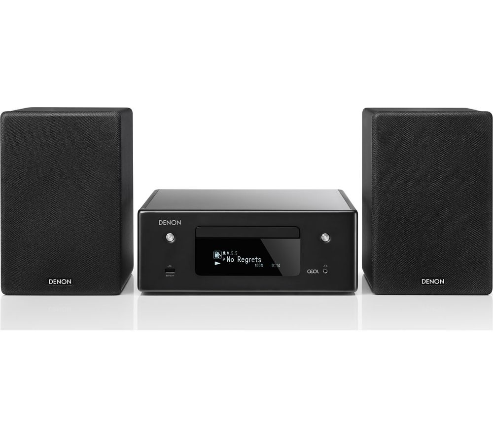 DENON CEOL N10 Wireless Smart Sound Hi-Fi System - Black