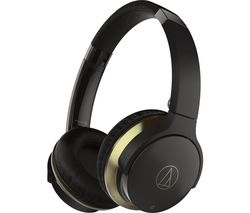 AUDIOTECHNICA ATH-AR3BT Wireless Bluetooth Headphones - Black