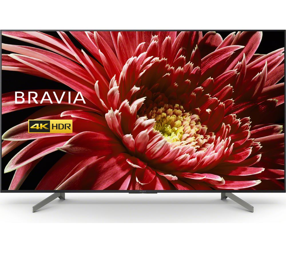 "75"" SONY BRAVIA KD75XG8505BU Smart 4K Ultra HD HDR LED TV with Google Assistant, Green"