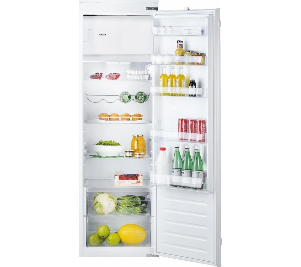 HOTPOINT HSZ 1801 AA.UK.1 Integrated Tall Fridge, Cream