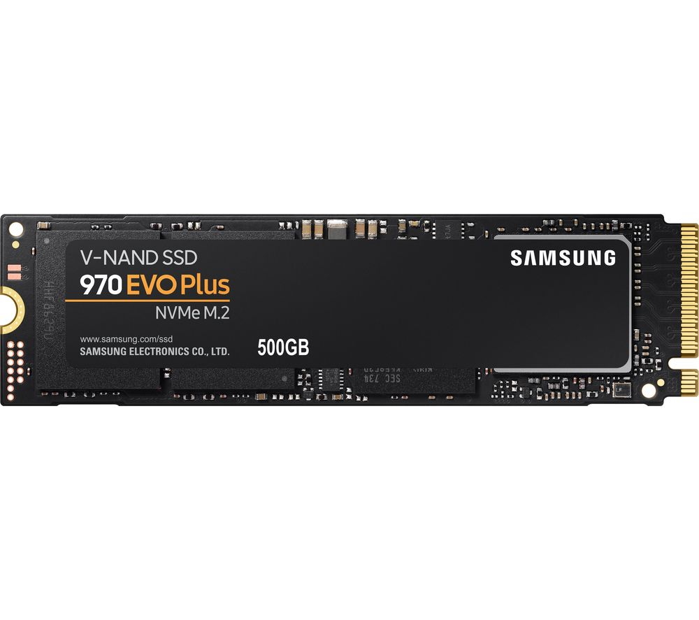 SAMSUNG 970 Evo Plus M.2 Internal SSD - 500 GB