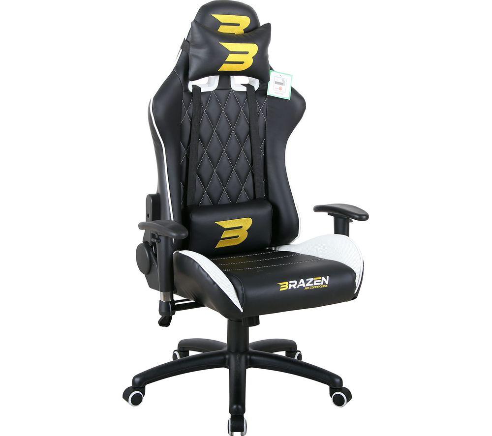 Image of Phantom Elite Gaming Chair - White, White