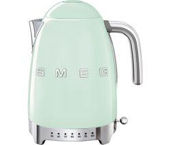 SMEG 50's Retro Style KLF04PGUK Jug Kettle - Pastel Green
